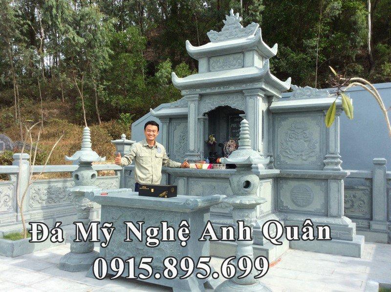 Lăng mộ đá xanh rêu của gia đình Chủ tịch tập đoàn xây dựng Nam Thiên Phú tại Nghệ An