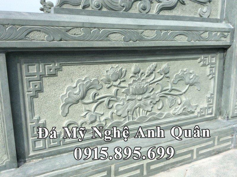 Lan can đá được khắc CNC