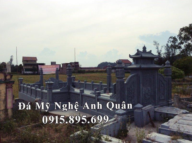 Tổng quan khu lăng mộ đá đẹp dòng họ Nguyễn Văn tại Nghệ An