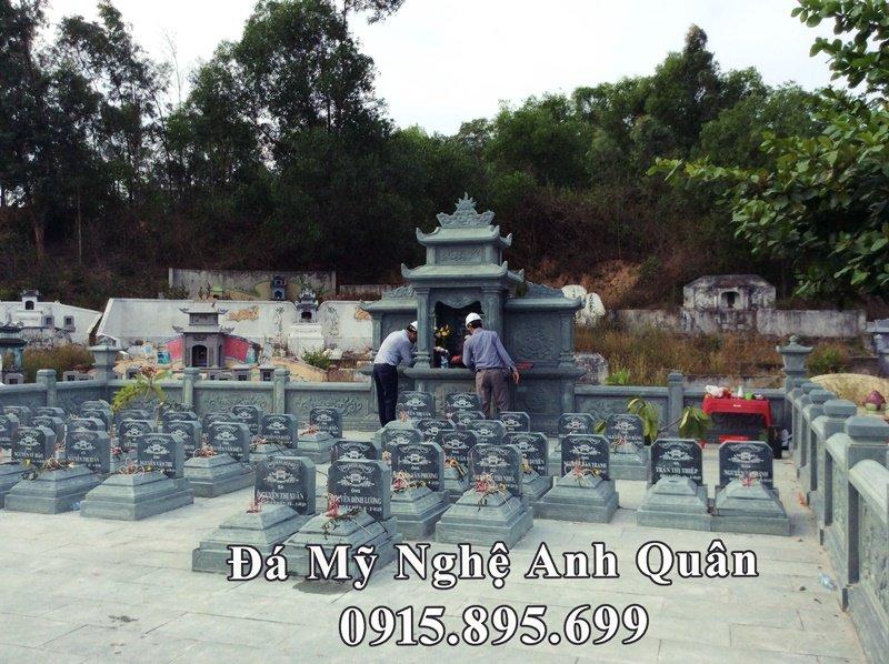 Tổng quan khu lăng mộ đá xanh rêu đẹp tại Nghệ An