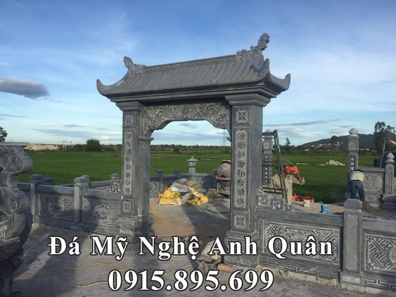 Cong da khu lang mo da Quang Nam