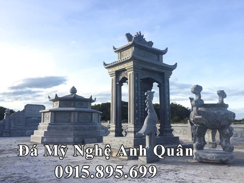 Khu lăng mộ ĐẸP - Lăng mộ đá Bát giác ĐẸP và Hoàn hảo tại Quảng Nam do Đá mỹ nghệ Anh Quân thực hiện