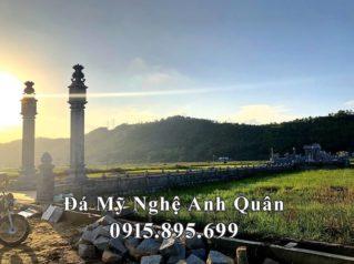 [Video] Cột đá đồng trụ, cột đá vuông, cột đá tròn, Chiếu đá Hoa SEN cho Nhà thờ họ