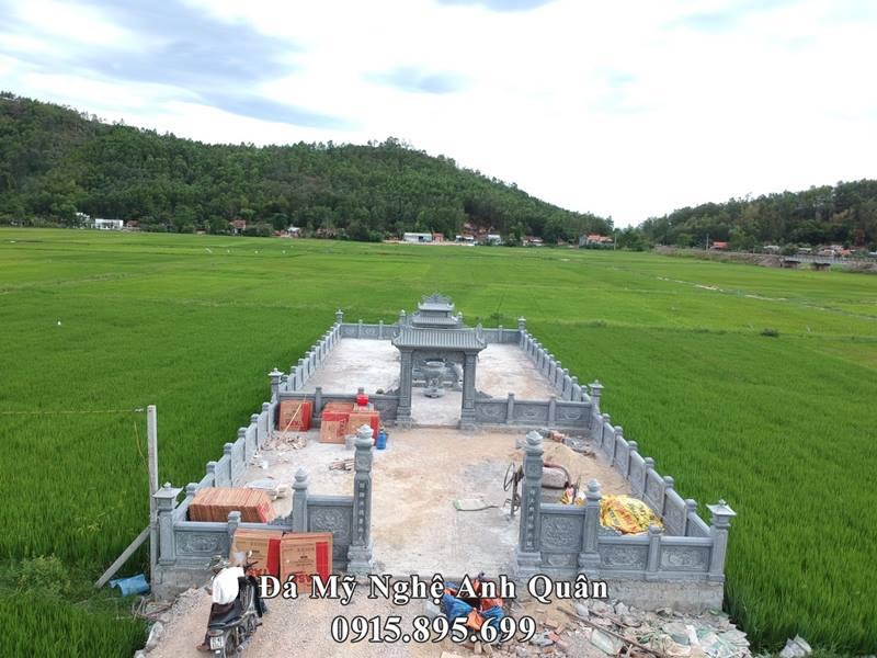 Khu lăng mộ đá ĐẸP Đá mỹ nghệ Anh Quân tại Quảng Nam - Khu lang mo da dien hinh nam 2020
