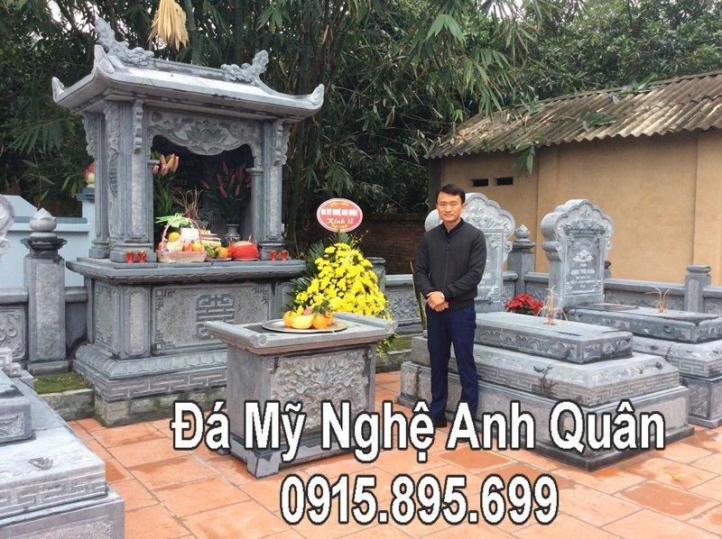 122 Nghe nhan Anh Quan truoc Khu lang mo da DEP tai Bac Giang