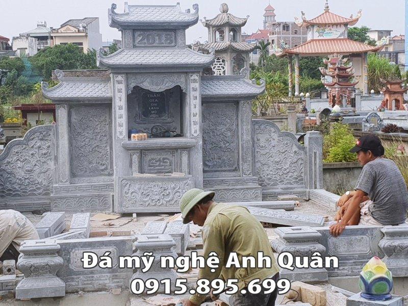 162 Lang tho da hai canh hai mai dep cua Tran Gia chi Lang mo tai Nam Dinh