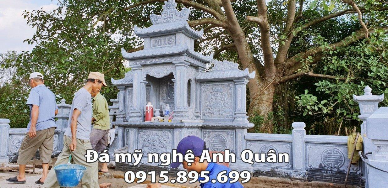 172 Thi cong - Lap dat Long dinh da cua Nguyen toc chi Lang mo