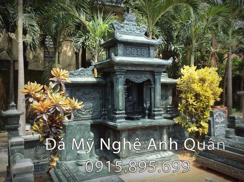 91 Long dinh da canh xanh reu cua Khu lang mo da xanh reu tai Quang Ninh