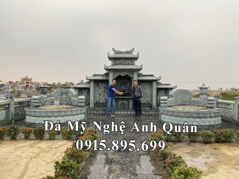 Khu Lăng mộ đá ĐẸP của gia đình Chủ tịch Thép Việt Nhật - VJS Group (Ông Đặng Việt Bách chụp ảnh cùng Nghệ nhân trẻ Anh Quân) tại Khu lăng mộ