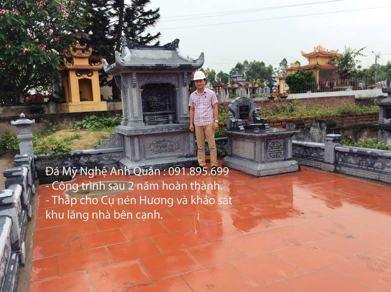 Khu Lang mo da dep - be the hien nay
