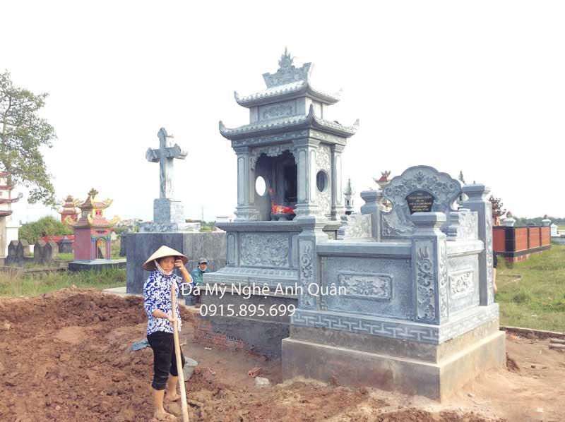 Khu Lang mo da dep tai Thai Binh