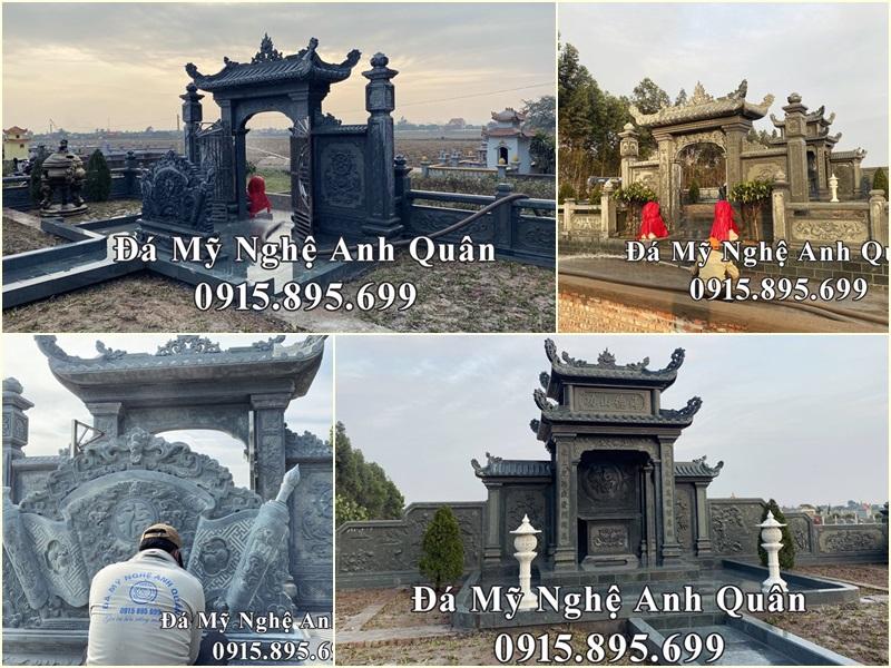 Lăng mộ tại Ý Yên, Nam Định khẳng định khát vọng và sứ mệnh của Đá mỹ nghệ Anh Quân.