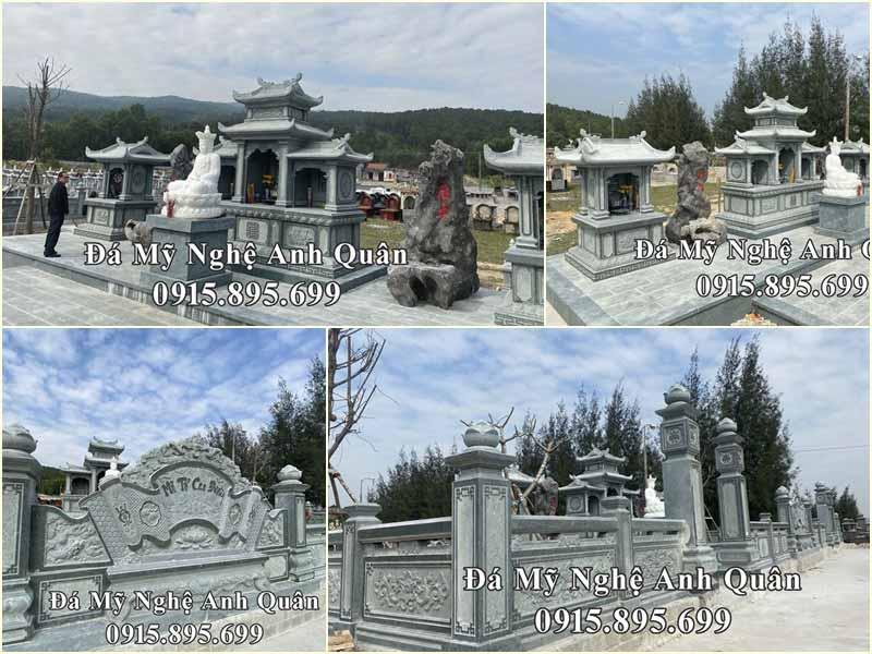 Khu Lăng mộ tại Tĩnh Gia Thanh Hóa, công trình khẳng định Thương hiệu của Đá mỹ nghệ Anh Quân.