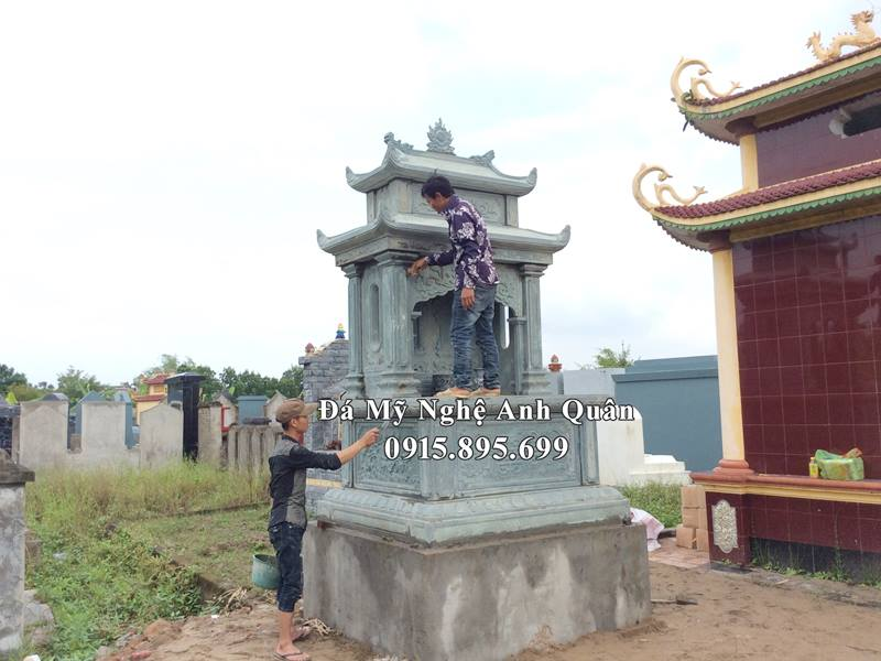Mo da doi xanh reu nguyen khoi 2020 tai Ninh Binh