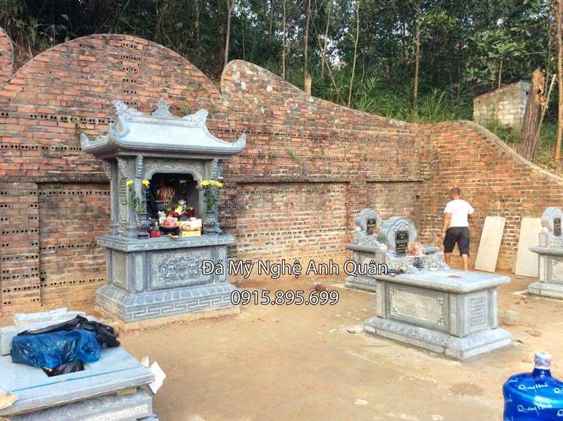Xay Lang mo da tai Quang Ninh