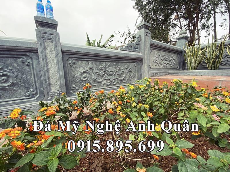 Chi tiet Lan can da cua Khu lang mo Nhac phu cua Anh Giang
