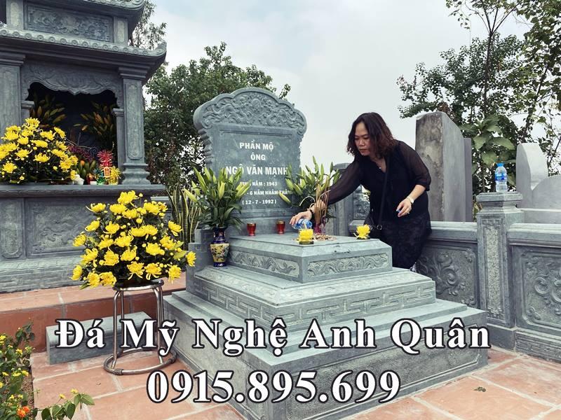 Mo da xanh reu cao cap Anh Quan - Mo da Tam Son