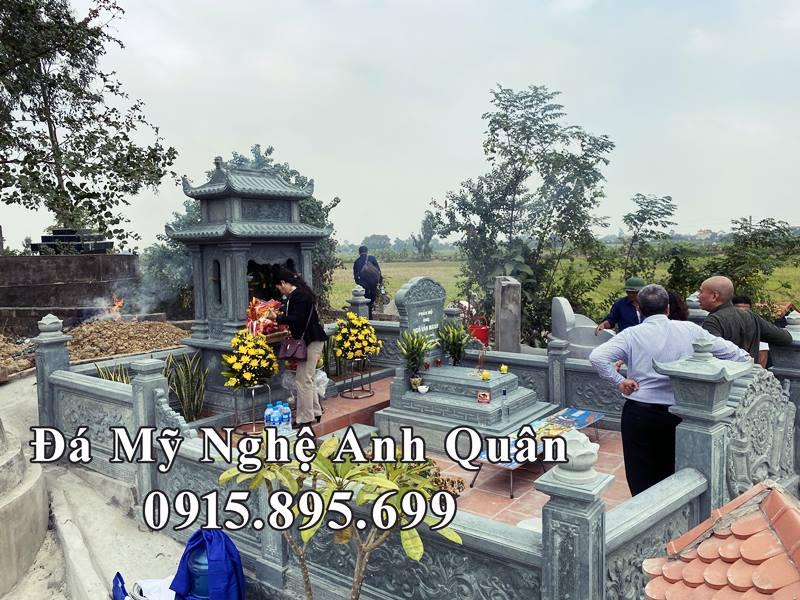 Toan canh khu lang mo da cua Nhac Phu Anh Giang