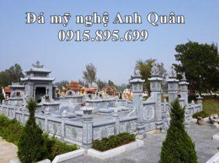 Xây dựng Khu Lăng Mộ Đá Xanh cao cấp tại tỉnh Thanh Hóa năm 2019 – Lăng Mộ Đẹp Anh Quân