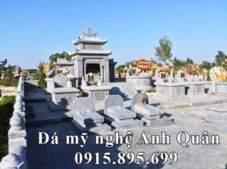 Xây dựng Khu Lăng Mộ Đá tròn cao cấp, băm bạt cho Chi tộc Họ Nguyễn tại Hải Phòng
