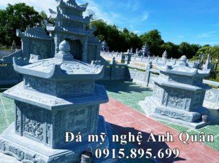 Xây dựng Lăng Mộ Đá Lục Giác Nguyên khối tựa mộ cổ cho Ông – Bà (hay Bố – Mẹ)