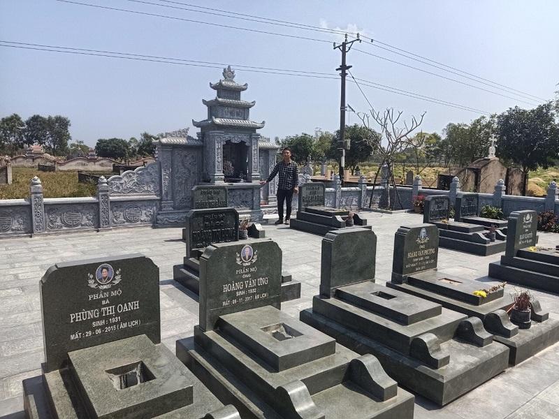 Khu Lăng mộ đẹp 2021 - Xu hướng thiết kế, xây dựng Lăng mộ đá năm 2021
