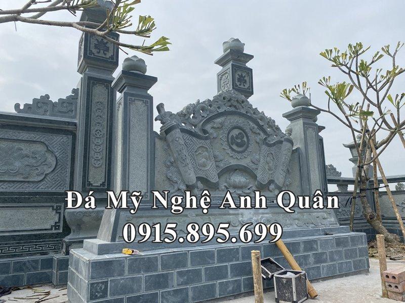 Cuon thu da (Binh phong da) dep cua Lang mo