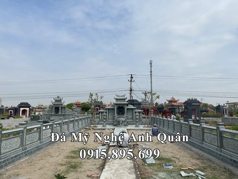 Kich thuoc Lang mo da duoc lua chon rat ky luong