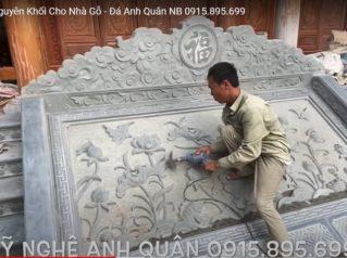 Bậc Thềm Đá, Cột đá Nguyên Khối Cho Nhà Gỗ – Đá Anh Quân Ninh Bình 0915.895.699