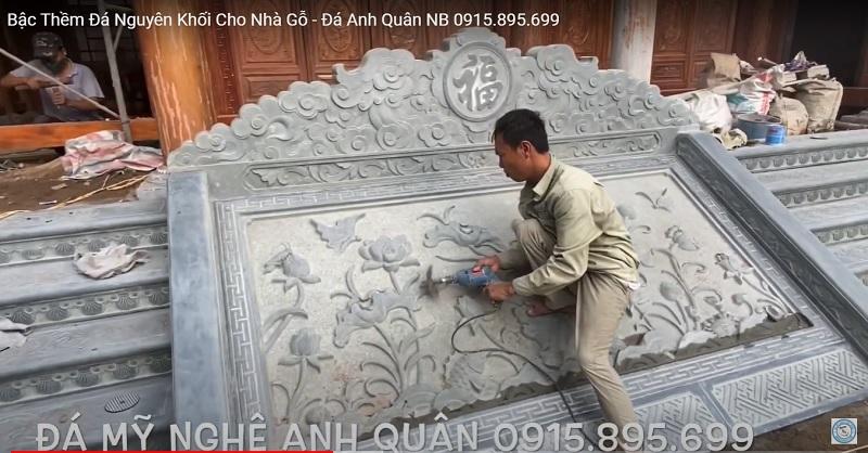 Mau Bac them da dep Anh Quan - Chieu da SEN cho Nha tho ho