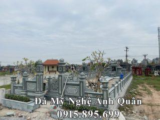 Xây dựng Khu lăng mộ đá đẹp, đá xanh rêu nguyên khối tại tỉnh Thái Bình