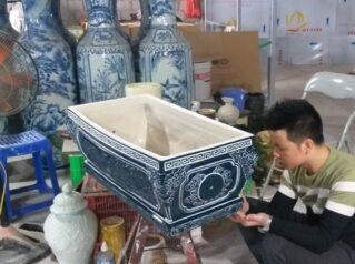 Kinh nghiệm chọn mua Tiểu Quách gốm sứ Bát Tràng – Lăng mộ đá Anh Quân