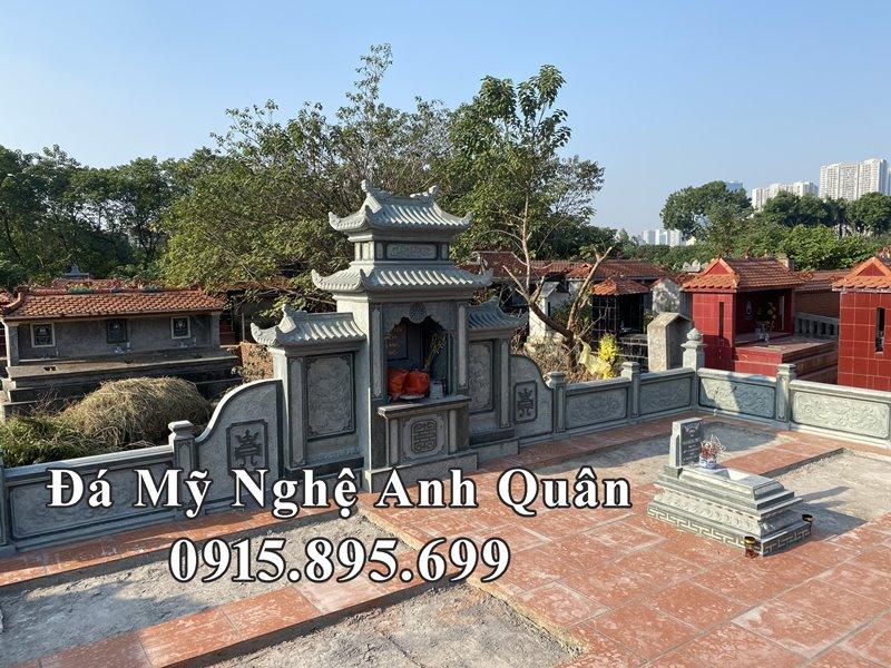 Khu Lang mo da dep tai Ha Noi