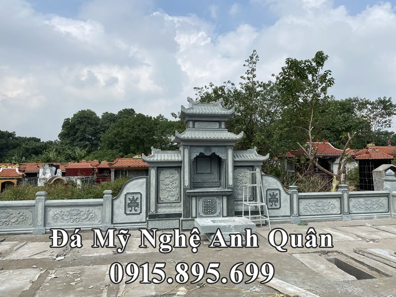 Khuon vien cua khu Lang mo da tai Ha Noi
