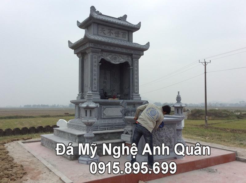 Lang tho da dep xanh reu cua Khu lang mo da xanh reu cao cap tai Nam Dinh