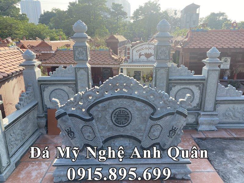 Mau Cuon thu da - Binh phong da xanh reu Anh Quan