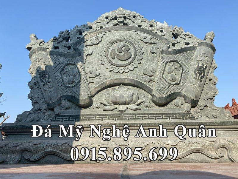 Mau Cuon thu da _ Binh phong da khac chu Tam y nghia
