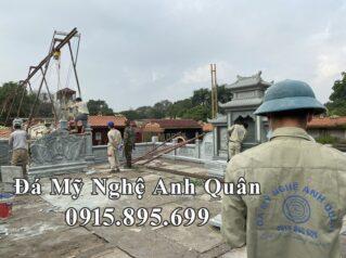 Lắp đặt Khu Lăng Mộ đá Xanh rêu giữa Thủ đô Hà Nội