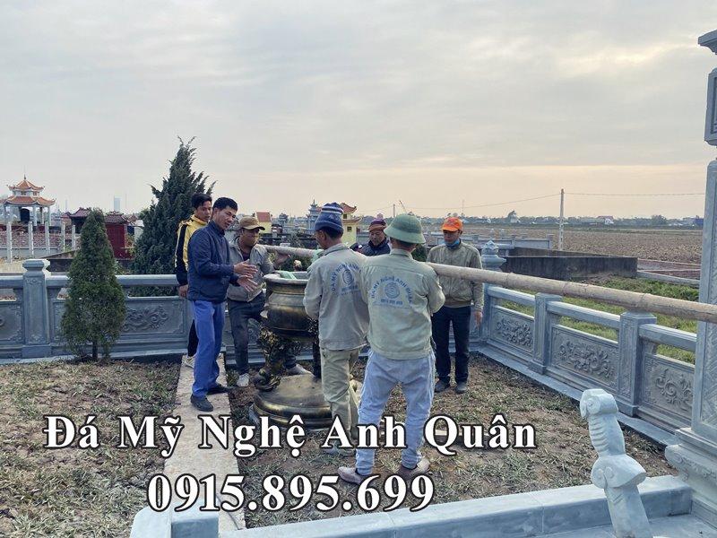 Xay dung hoan thien khu lang mo da tai Nam Dinh