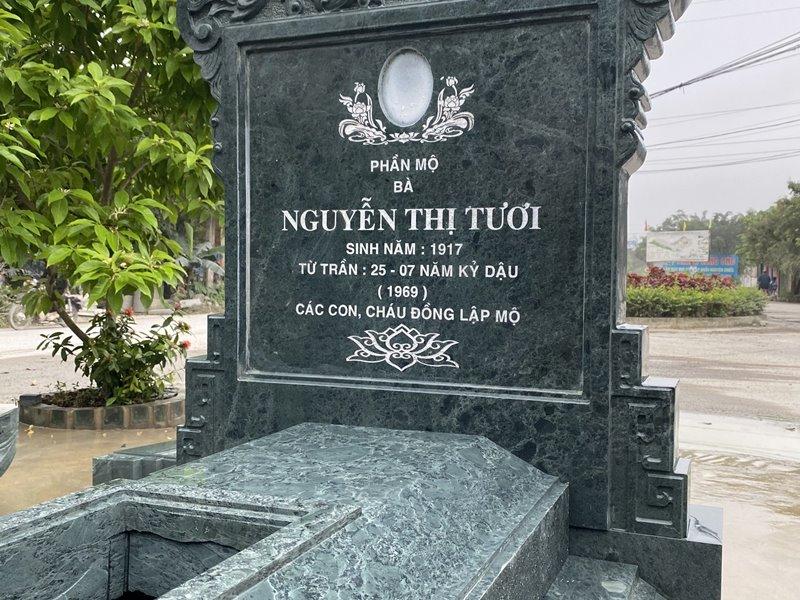 Phan Bia Mo va ten duoc tram khac ky luong hinh anh Song Long trau nguyet