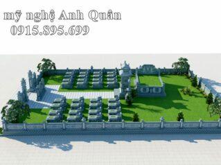 Thiết kế Khu Lăng mộ Họ Nguyễn