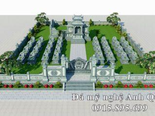 Mẫu thiết kế Lăng thờ đá đẹp cho khu Lăng mộ tại Hà Nội hiện nay